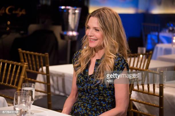 Michelle Pfeiffer on November 6 2017