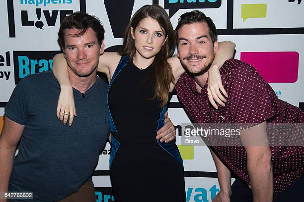Mike Stangle Anna Kendrick and Dave Stangle