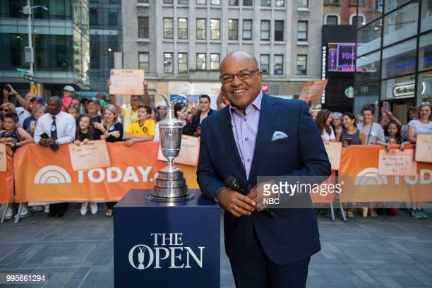 Mike Tirico on Monday, July 9, 2018 --