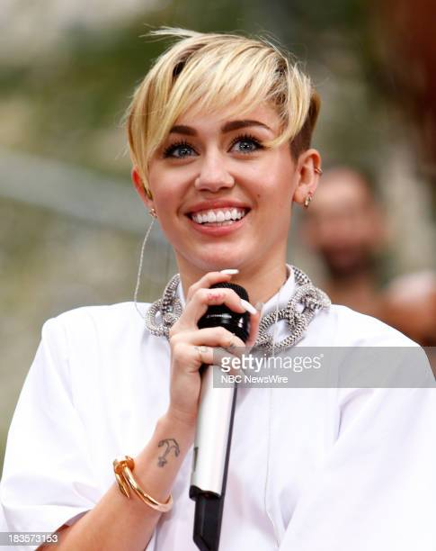 """Miley Cyrus appears on NBC News' """"Today"""" show --"""