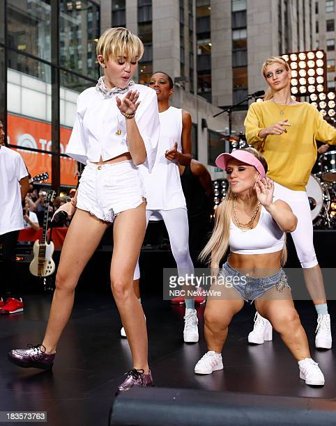 Miley Cyrus appears on NBC News' Today show