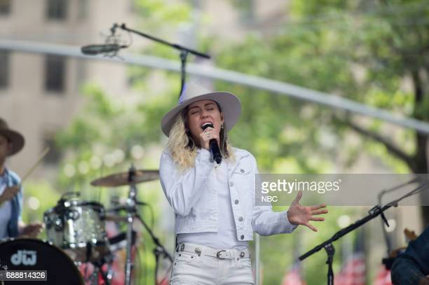 Miley Cyrus on Friday May 26 2017