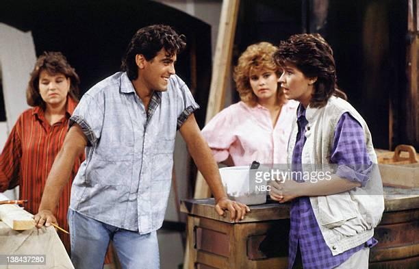 Mindy Cohn as Natalie Letisha Sage Green George Clooney as George Burnett Lisa Welchel as Blair Warner and Nancy McKeon as Joanna 'Jo' Marie...
