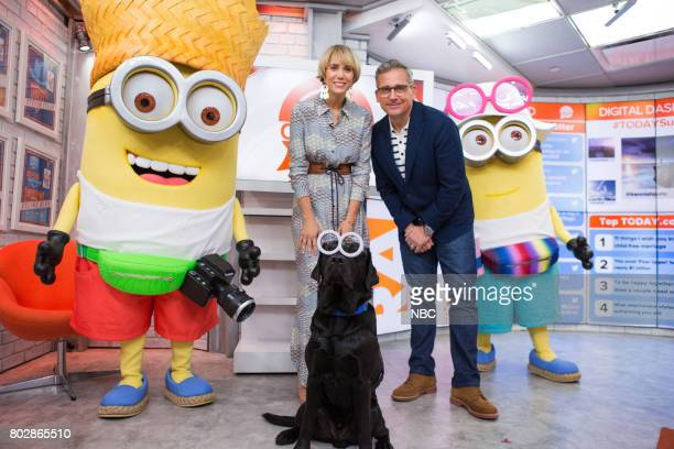 Minions Kristen Wiig Charlie and Steve Carell on Wednesday June 28 2017