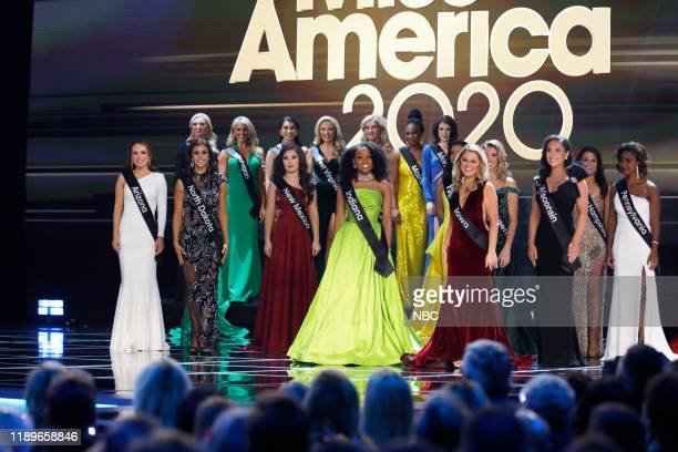 Pictured: Miss America 2020 Candidates at Mohegan Sun in Uncasville, CT on Thursday, December 19, 2019 --
