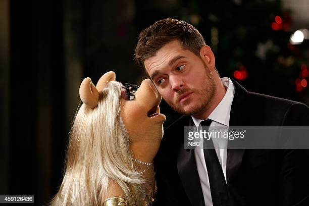 Miss Piggy Michael Buble