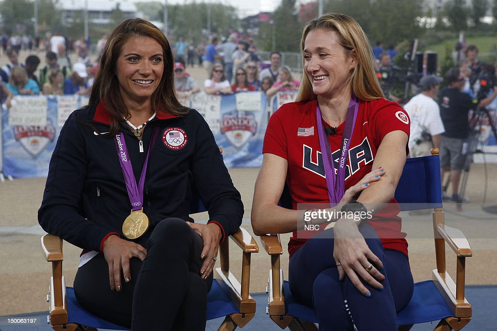 Misty Mae-Treanor, Kerri Walsh Jennings on August 9, 2012 --