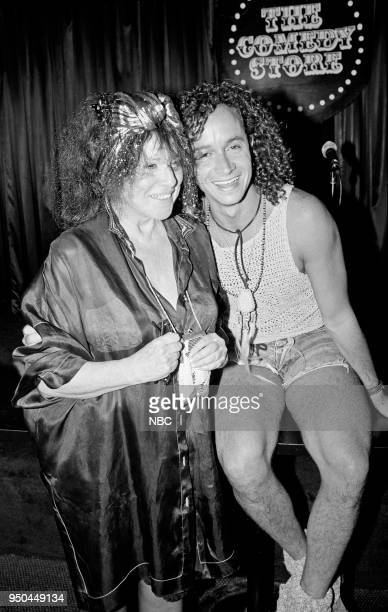 Mitzi Shore with son Pauly Shore