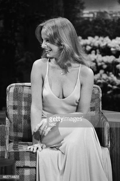 Model Claudia Jennings during an interview on March 29 1978