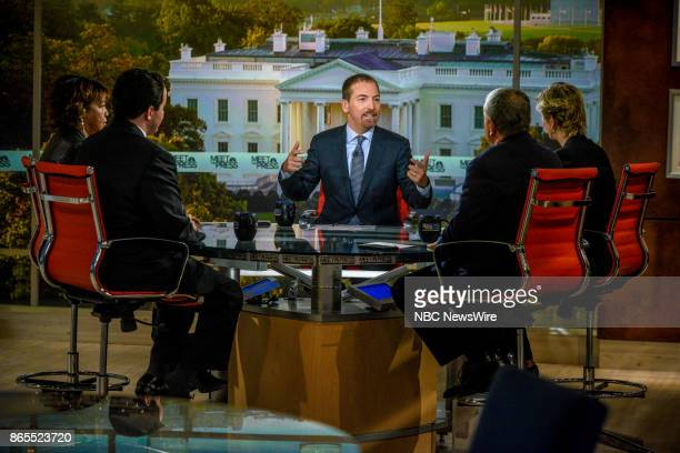 Moderator Chuck Todd and roundtable Robert Costa National Political Reporter The Washington Post Helene Cooper Pentagon Correspondent The New York...