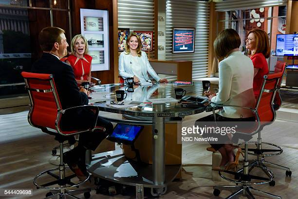Moderator Chuck Todd Andrea Mitchell NBC News Chief Foreign Affairs Correspondent Katy Tur NBC News Correspondent Kelly ODonnell NBC News Capitol...