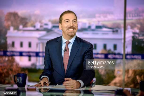 Moderator Chuck Todd appears on Meet the Press in Washington DC Sunday Dec 9 2018