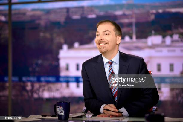 Moderator Chuck Todd appears on Meet the Press in Washington DC Sunday March 3 2019