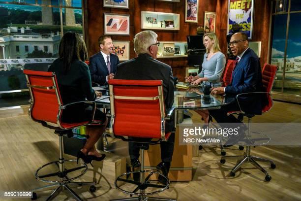 Moderator Chuck Todd Carol Lee National Political Reporter NBC News Eugene Robinson Columnist The Washington Post Hugh Hewitt Host MSNBCs Hugh Hewitt...