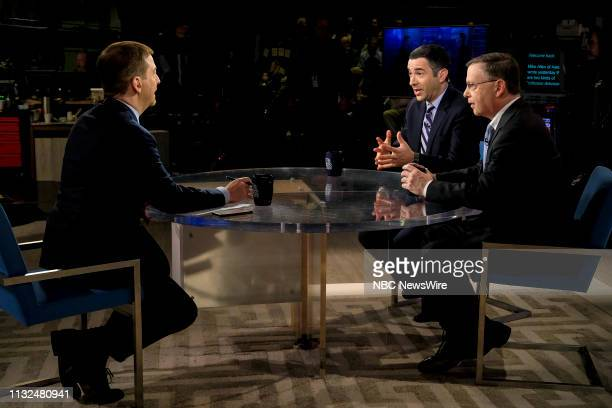 Moderator Chuck Todd Chuck Rosenberg Former senior FBI official and former US attorney NBC News Contributor and Ari Melber Host of The Beat with Ari...