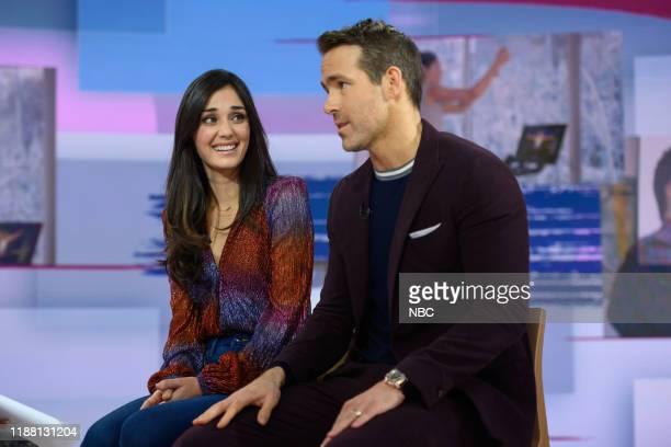 Monica Ruiz and Ryan Reynolds on Thursday, December 12, 2019 --