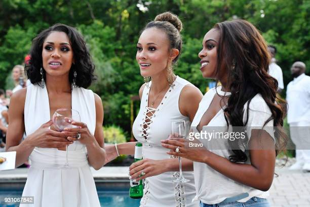 Pictured: Monique Samuels, Ashley Boalch Darby, Candiace Dillard --