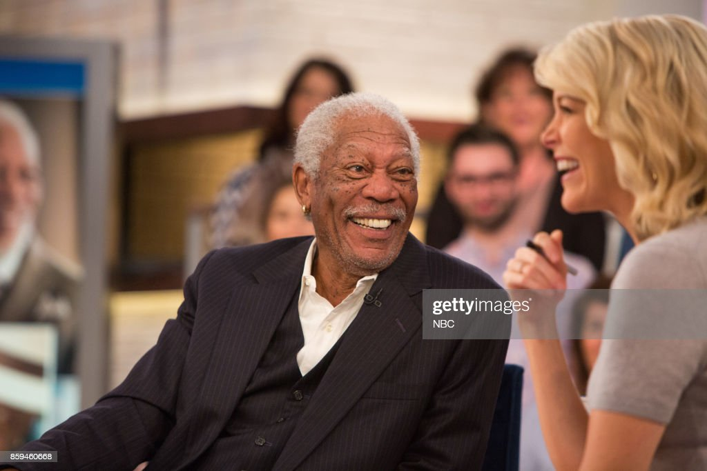 Morgan Freeman on Friday, October 6, 2017 --