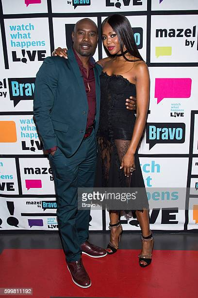 Morris Chestnut and Naomi Campbell