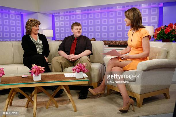 Mother Monica Sorrell Nathan Sorrell NBC New's Savannah Guthrie appears on NBC News' 'Today' show on March 28 2013