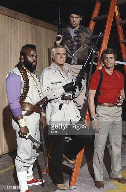 Mr T as Sgt Bosco BA Baracus Dwight Schultz as Capt HM Howling Mad Murdock Dirk Benedict as Lt Templeton Faceman Peck George Peppard as Col John...