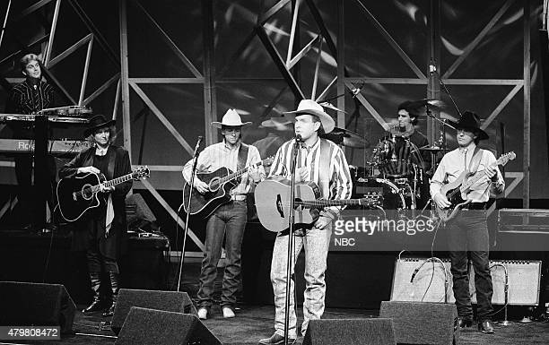 Musical guest Garth Brooks performs on October 16 1990