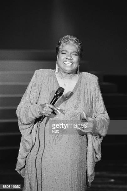 Musical guest Linda Hopkins performs on August 14 1991