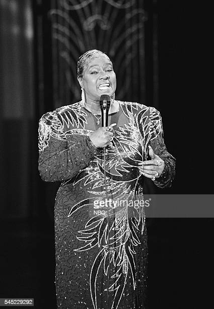 Musical guest Linda Hopkins performs on May 10 1991
