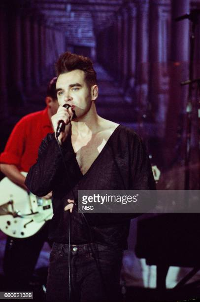 Musical guest Morrissey performs on June 14 1991