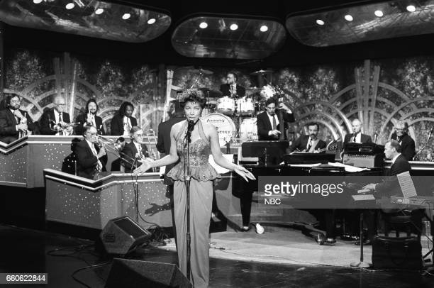 Musical guest Natalie Cole performs on June 19 1991