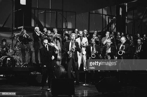 Musical guest Pat Benatar performs on May 30 1991