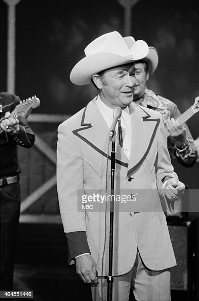 Musical guests Roy Rogers and Sons of the Pioneers perform on September 24 1976