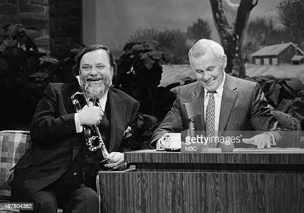 Musician Al Hirt host Johnny Carson on December 21 1979