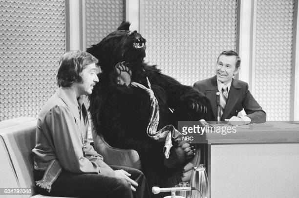 Musician Doc Severinsen during Bear sketch with Host Johnny Carson on October 13th 1970