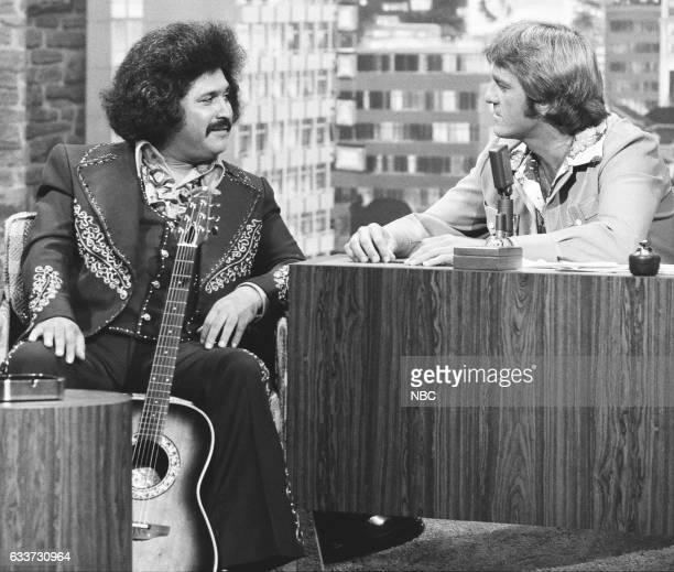 Musician Freddie Fender an interview with guest Host Don Meredith on May 7th 1975