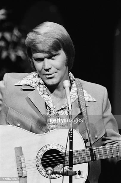 Musician Glen Campbell on September 12 1975