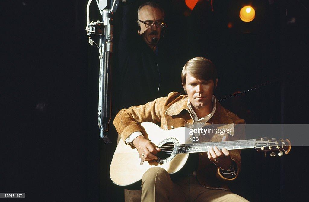 Musician Glen Campbell --