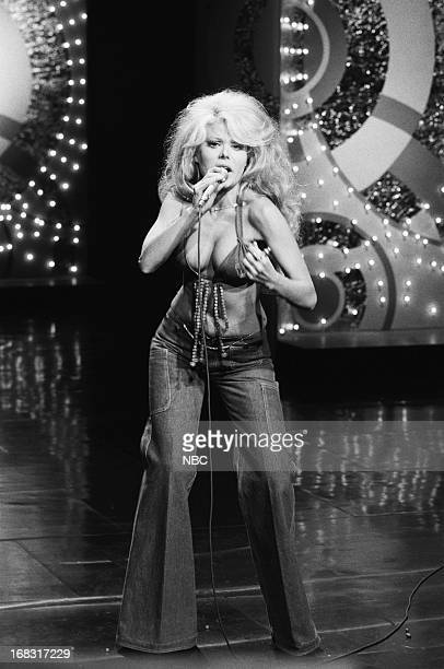 Musician/actress Charo on July 19 1976