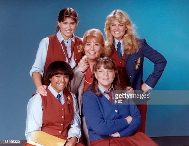 Nancy McKeon as Joanna 'Jo' Marie Polniaczek Bonner Lisa Whelchel as Blair Warner Mindy Cohn as Natalie Letisha Sage Green Kim Fields as Dorothy...