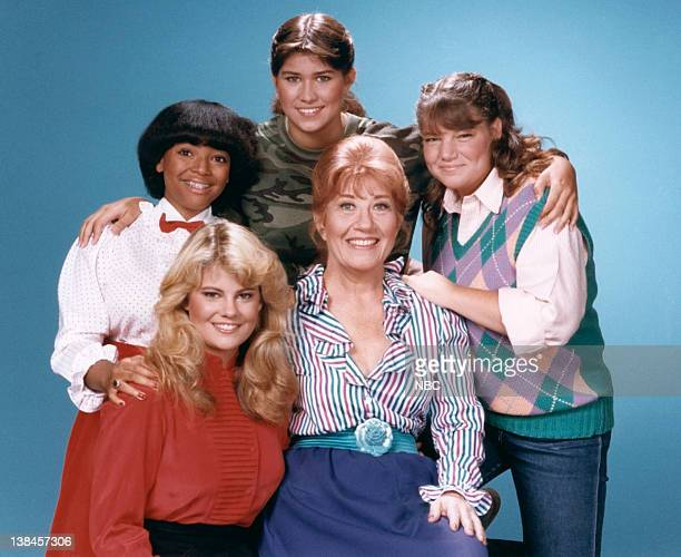 Nancy McKeon as Joanna 'Jo' Marie Polniaczek Bonner Mindy Cohn as Natalie Letisha Sage Green Charlotte Rae as Mrs Edna Ann Garrett Lisa Whelchel as...