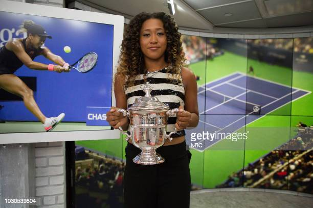 Naomi Osaka on Monday September 10 2018