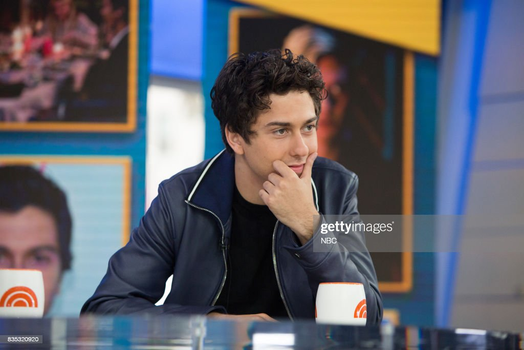 Nat Wolff on Friday, August 18, 2017 --