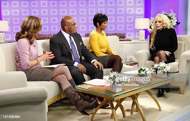 Natalie Morales Al Roker Tamron Hall and Victoria Gotti appear on NBC News' Today show Photo by Peter Kramer/NBC/NBC NewsWire