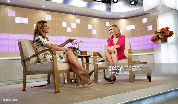 Natalie Morales and Andrea Canning appear on NBC News' Today show