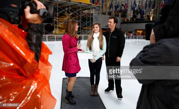 Natalie Morales Annie Mae Weiss and Michael Weiss appear on NBC News' Today show