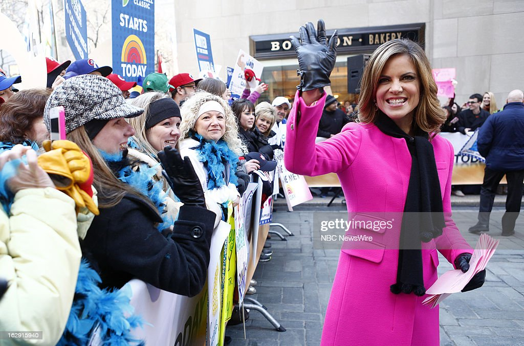 Natalie Morales appears on NBC News' 'Today' show --