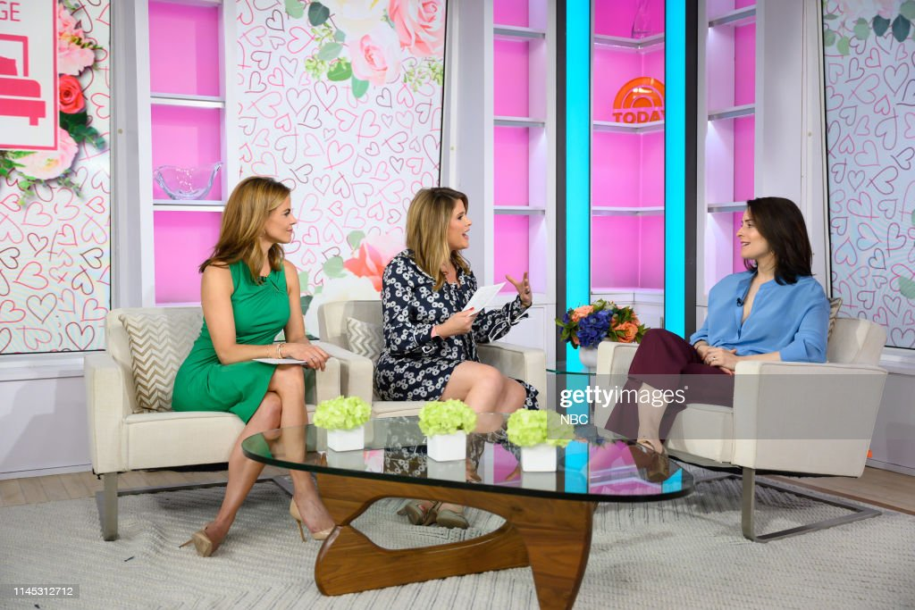 "NY: NBC's ""TODAY"" - Alice Johnson, Joe Namath, Natalie Morales, Sarah Bugbee, Kim Rhodes, Billy Dec, Leslie Morgan, Martha Stewart, Lori Bergamotto"