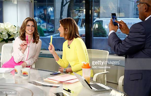 Natalie Morales Savannah Guthrie and Al Roker appear on NBC News' 'Today' show