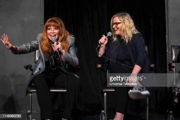 Pictured: Natasha Lyonne, Star/Executive Producer/Co-creator; Amy Poehler, Executive Producer/Co-creator at The UCB Theatre, Los Angeles, CA, June 3,...