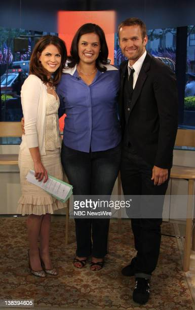 National Correspondent Natalie Morales speaks with former contestant from The Biggest Loser Patty Gonzales and trainer Bob Harper on NBC News' Today...